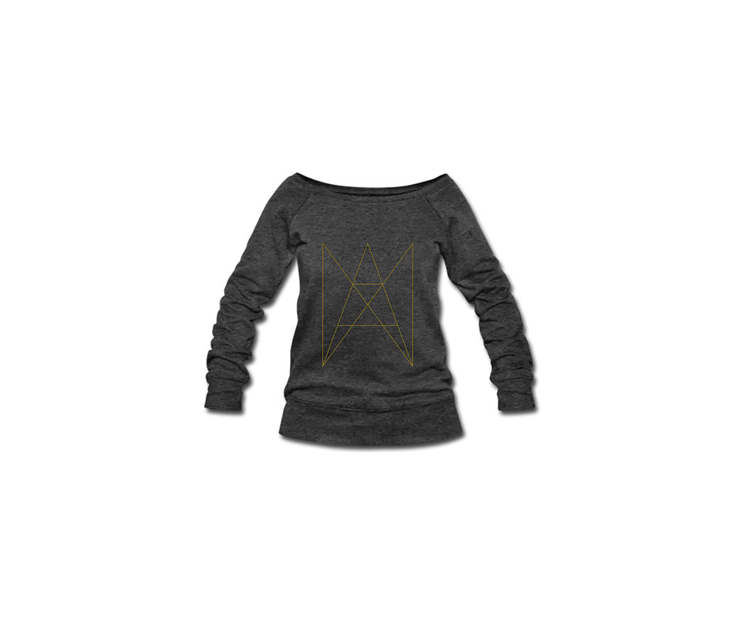 ANA ANA - LOGO PULLOVER WOMEN GOLD - product image