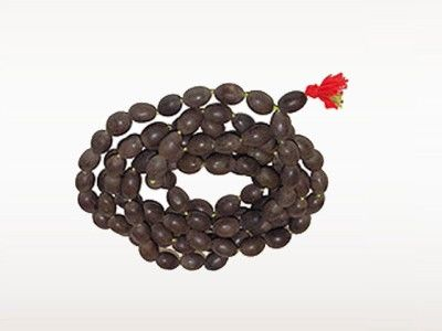 Lotus seed japa mala 108 beads - product image