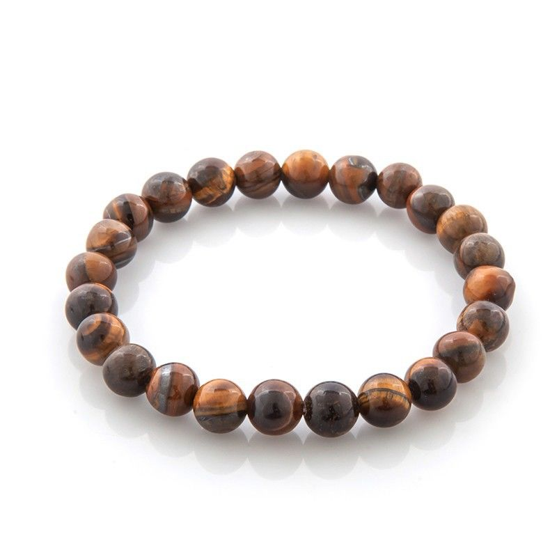 Tiger eye Bracelet, strength bracelet, energy bracelet, everyday bracelet, japa mala, Mala bracelet - product images  of