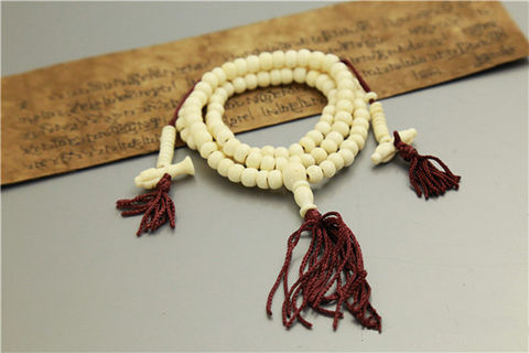 White,Bone,Japa,Mala,108,beads,white Bone mala, prayer beads, japa mala, india, meditation, yoga, jewelry, wholesale, buddha, store