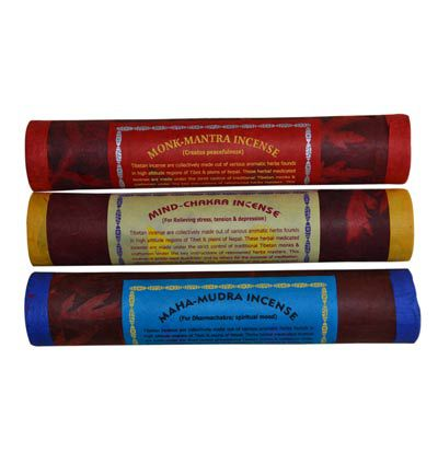 Tibetan,Incense,pack,of,3,incense, herbal, handmade, nepal, tibet, tibetan, india