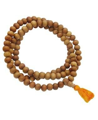 Sandalwood Japa Mala 108 beads - product images  of