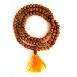 Sandalwood,Japa,Mala,108,beads,sandalwood mala, prayer beads, japa mala, india, meditation, yoga, jewelry, wholesale, buddha, store
