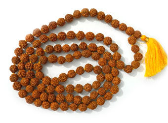 Rudraksha,Japa,mala,108,beads,Rudraksha mala, prayer beads, japa mala, India, meditation, yoga, jewelry, wholesale, Buddha, store