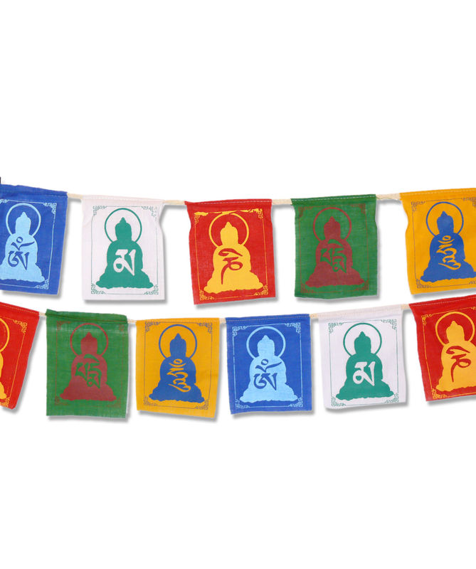 Mantra Symbols Prayer Flags - product image