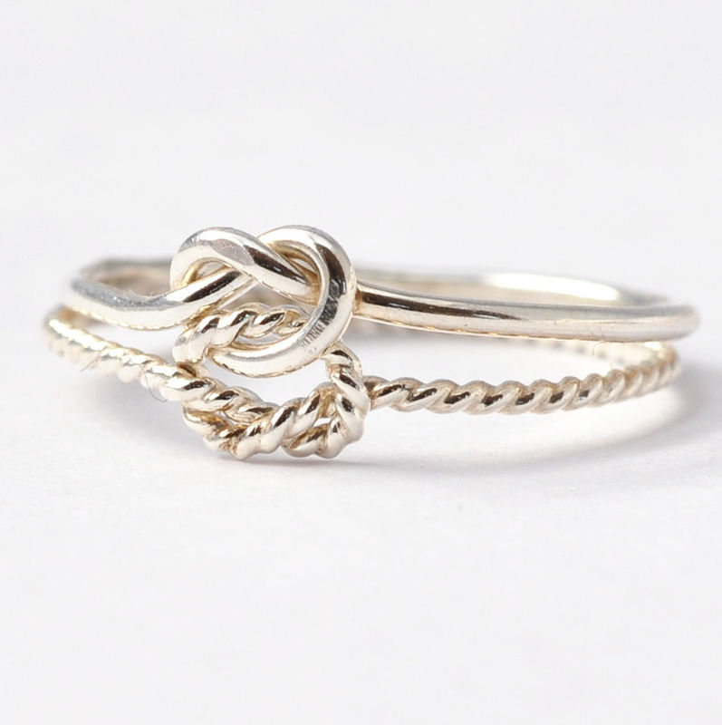 Double Love Knot Ring - product images  of