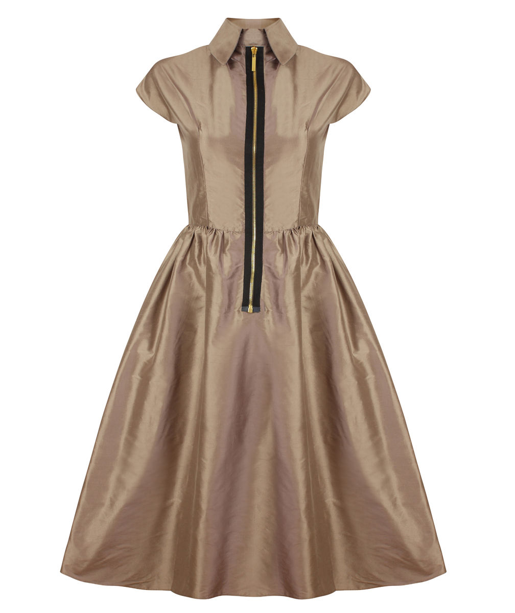 Diane Dress (Pewter) - product image