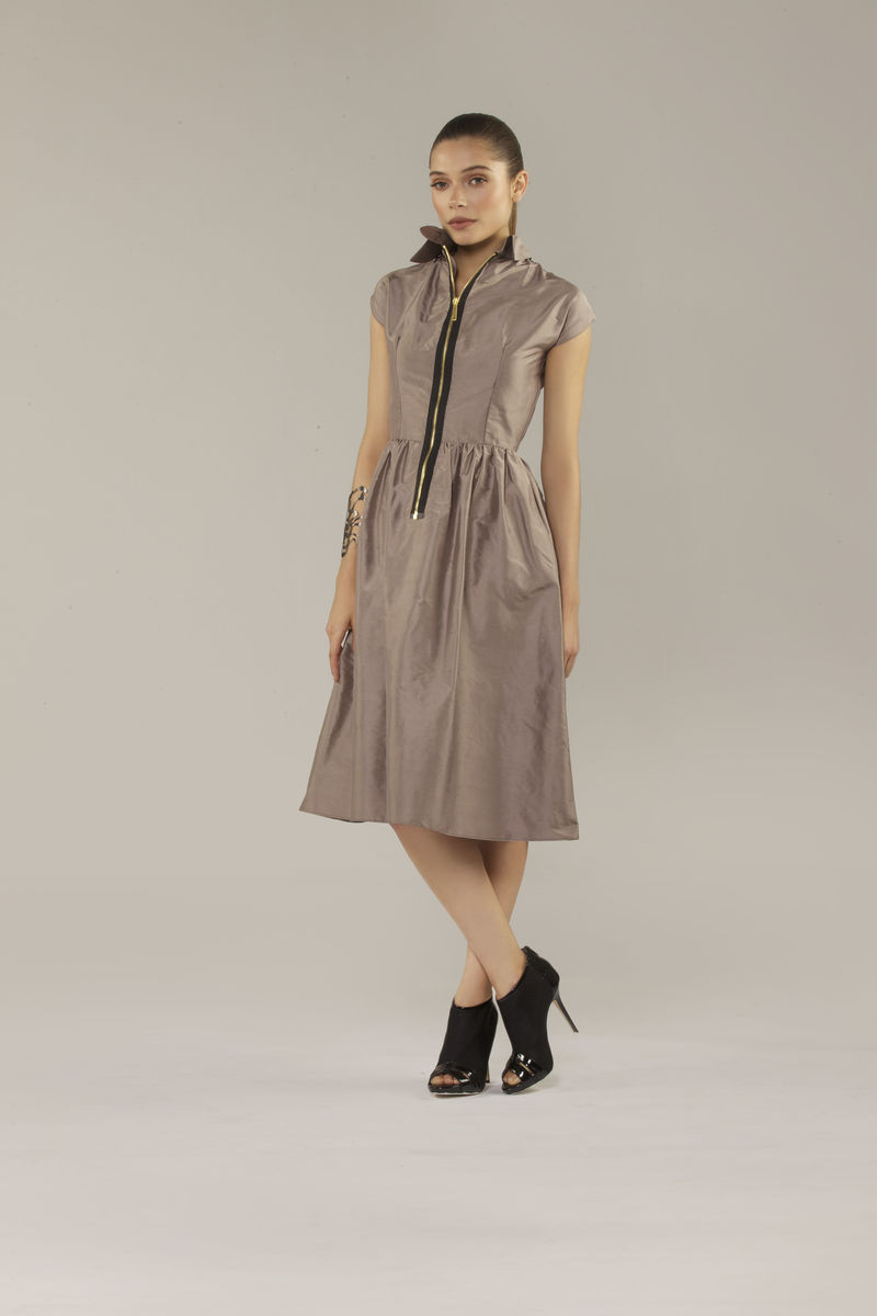 Diane Dress (Pewter) - product images  of