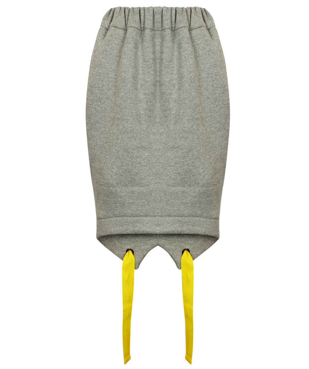 Jogging Skirt (Grey) - product image