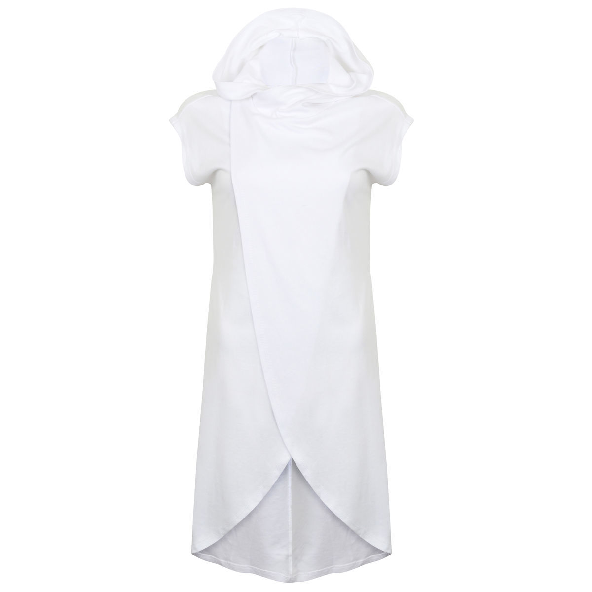 Sleeveless Running Hoodie (White) - product image