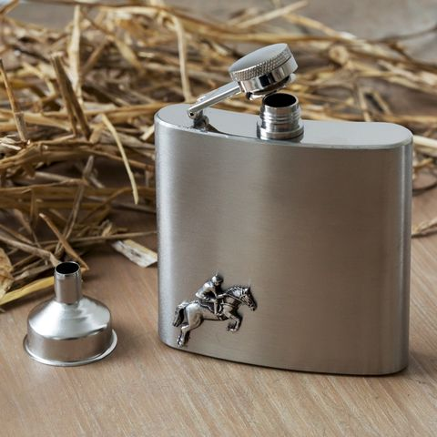 Horse,Jumping,Hip,Flask,horse, racing, hip, flask, mens, gift, unusual