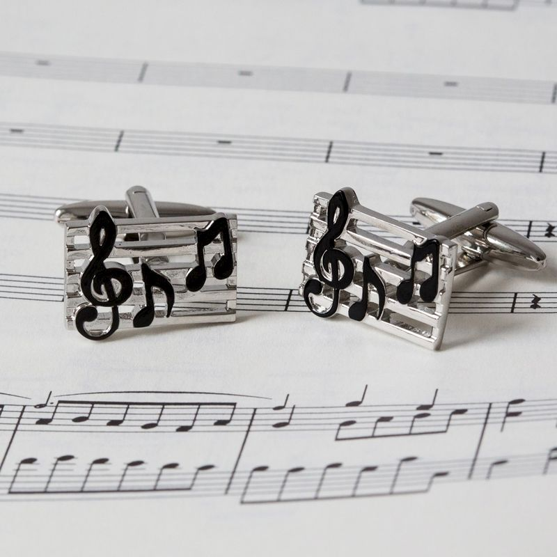 Music Notes Cufflinks - product image