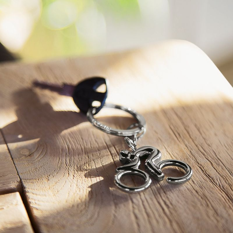 Cyclist Keyring - product image