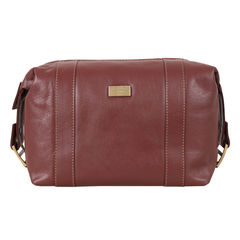 Dents Tan Leather Toiletry Bag - product images  of
