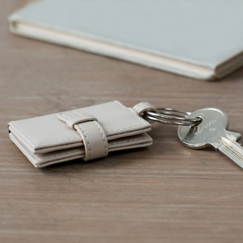 Leather Photo Frame Keyring - product images  of