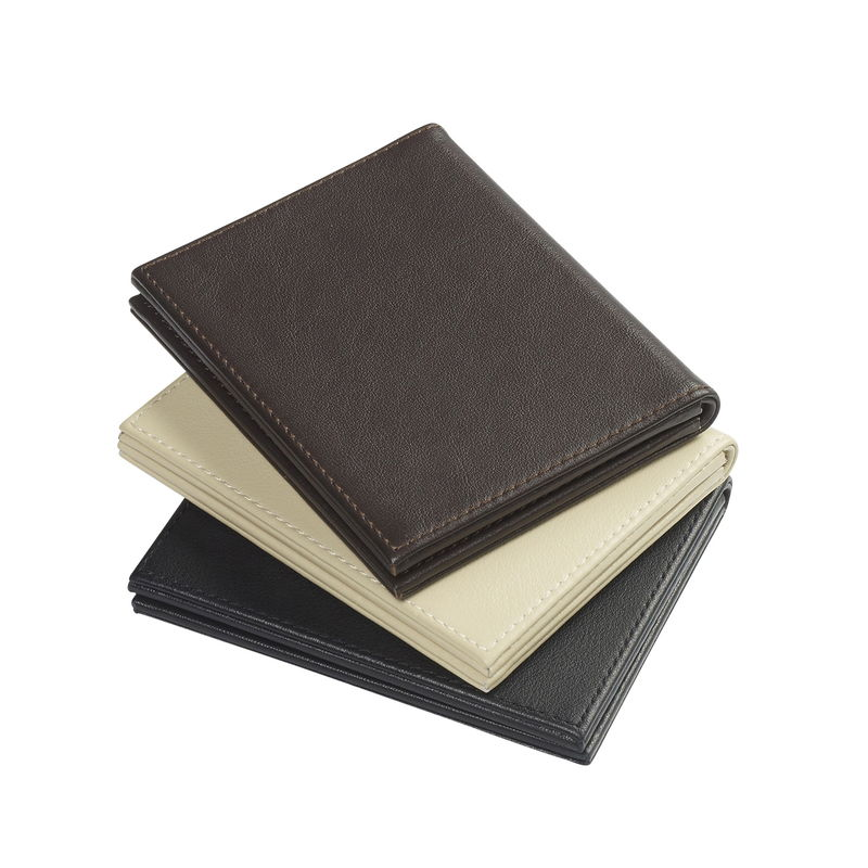 Folding Four Fold Leather Photo Frame - product images  of