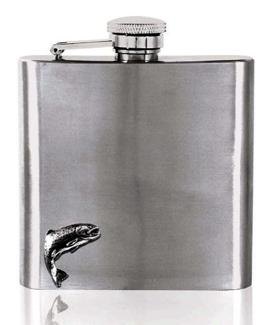Fishing Hip Flask - can be personalised - product image