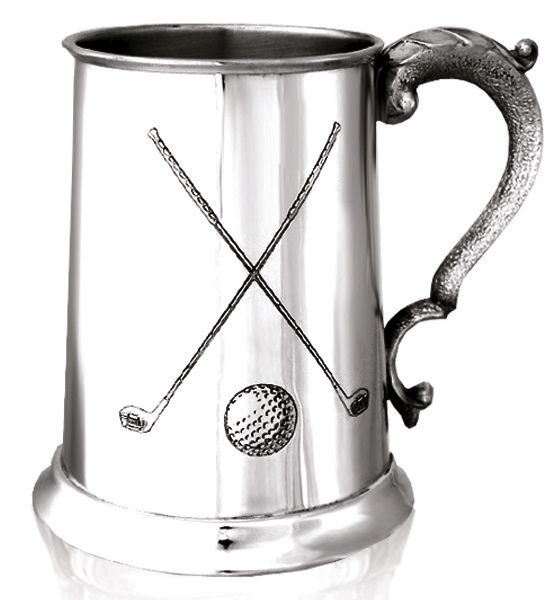 Golf Clubs Tankard - can be personalised - product image