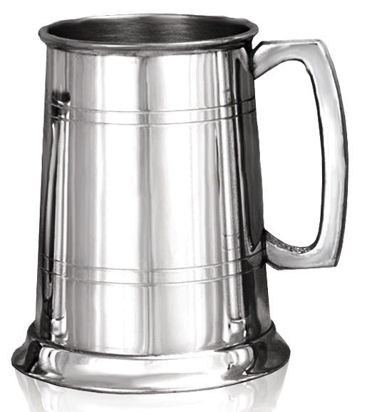 Pewter Tankard - can be personalised - product image