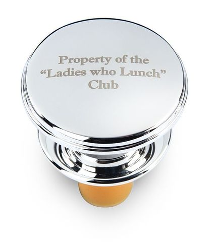 Property,of,the,Ladies,who,Lunch,Club,Bottle,Stopper,silver, funny, bottle, stopper, quirky, sayings, ladies, who, lunch, wine, gift, unusual, fun, stocking, filler, christmas