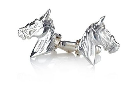Sterling,Silver,Horse,Head,Cufflinks,sterling, real, silver, horse, head, racehorse, racing, cuffllnks, hallmarked, gift, for, men, sport, valentines, anniversary,