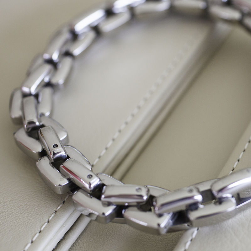 Steel Square Link Bracelet - product images  of