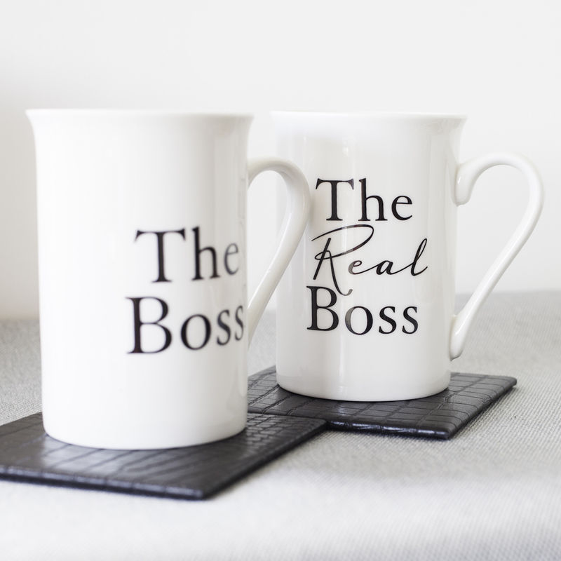 The Boss Matching Mugs Product Images Of