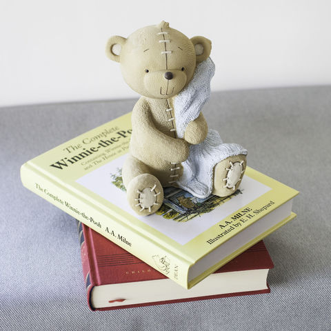 Cute,Teddy,Money,Box,with,Blue,Blanket,new, baby, boy, gift, money, box, teddy, christening, present, christmas, birthday