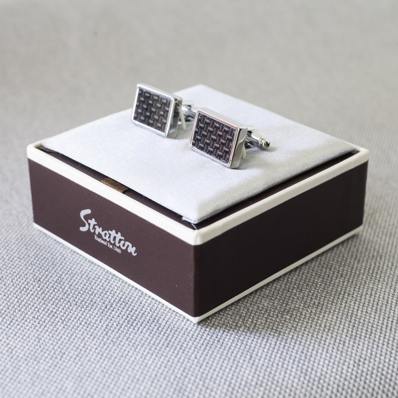 Carbon Fibre Cufflinks - product images  of