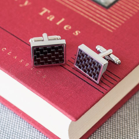 Carbon,Fibre,Cufflinks,stratton, carbon, fibre, cufflinks, mens, gift, jewellery, black