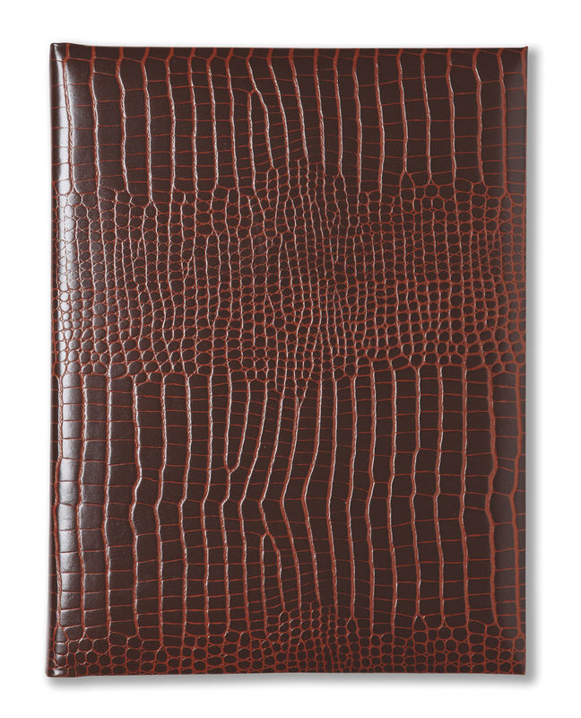 Brown Grained Leather Photo Album - product image