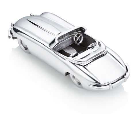 E-Type,Jaguar,Ornament,E-type, Jaguar, mens, motoring, gift, ornament, car, present, silver, motor,