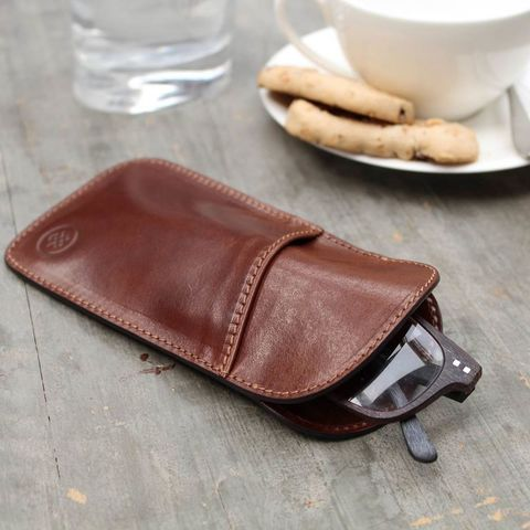 Italian,Leather,Glasses,Case,mens, ladies, leather, glasses, spectacle, case, brown, black, tan, maxwell scott