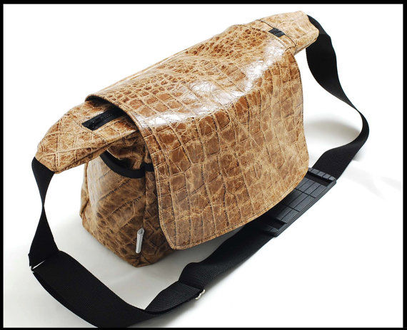 DSLR leather bag - leather messenger bag for women - Large - product images  of