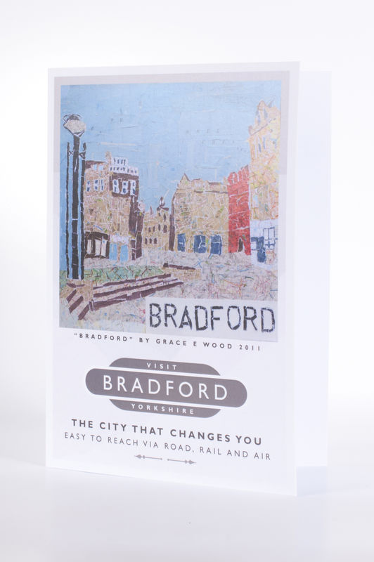 Visit Bradford Greetings Card - product images