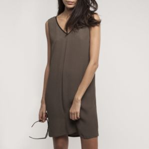IKKS,Dress,SALE,IKKS khaki Dress, IKKS, Dress,