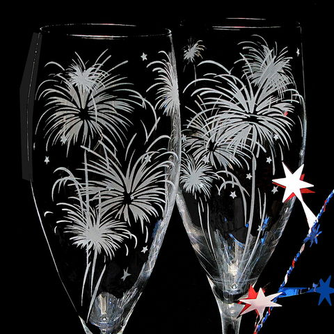 2,Fireworks,Wedding,Champagne,Flutes,,Sparkler,Glasses,,New,Year's,Eve,personalized, fireworks wedding, champagne flutes, Sparkler Wedding, sparkler wedding glasses, toasting flutes, champagne glasses