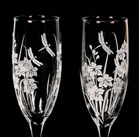 Personalized,Wedding,Champagne,Flutes,,Dragonfly,,Orchid,,Engraved,Orchid, dragonfly wedding, Weddings,engraved,personalized,orchid,champagne_flutes,toasting_flutes,champagne_glasses,engraved_wedding,personalized_wedding,dragonfly,dragonfly_wedding,etched_glass,orchid_wedding,sand_etched_lead_free_glass