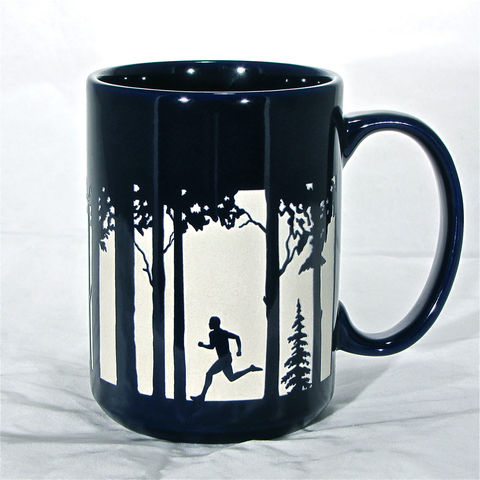 Male,Runner,Coffee,Cup,-,Engraved,Gift,for,Trail,Runner,,15,ozs,,Midnight,Blue,Running,Mug,male Runner Coffee Cup - Engraved Gift for Trail Runner, 15 ozs, Blue, Black Running Coffee Mug