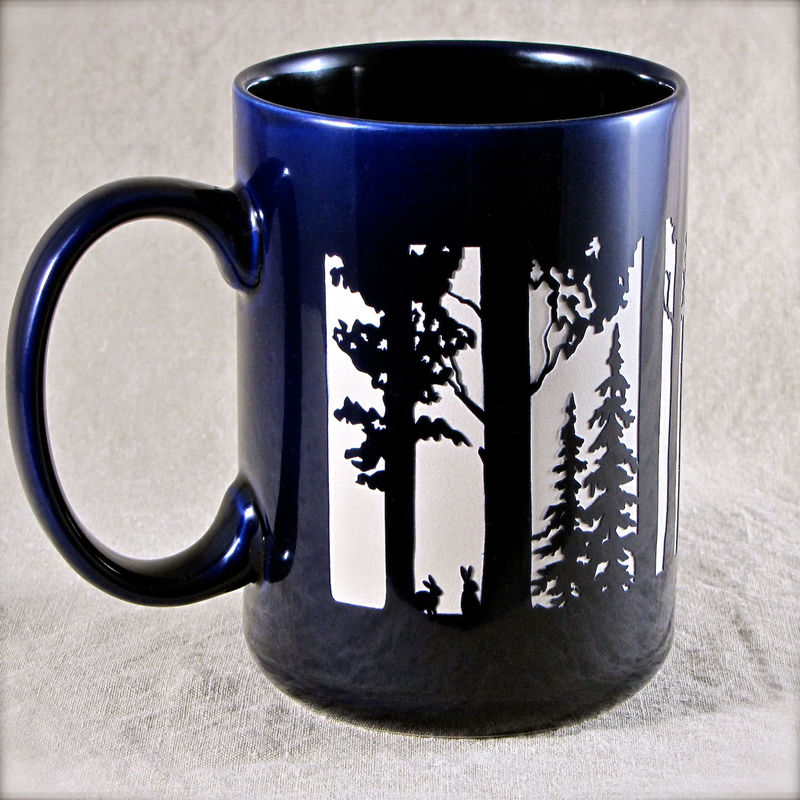 Big Foot Mug Coffee Cup Gift for Mom or Dad, Sasquatch Coffee Cup - product image