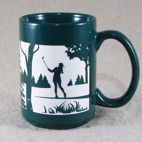 Woman,Golfer,Mug,,Coffee,Cup,,Mother's,Day,Gift,for,Mom,Woman Golfer Mug, Female, Golf, Golf Club, Coffee Cup, Mother's Day Gift for Mom