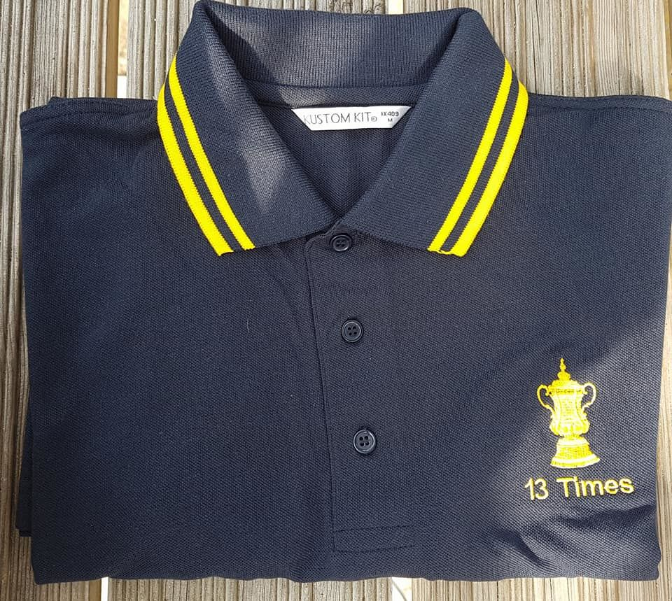 13 Times Polo shirts (Navy + Yellow) - product images  of