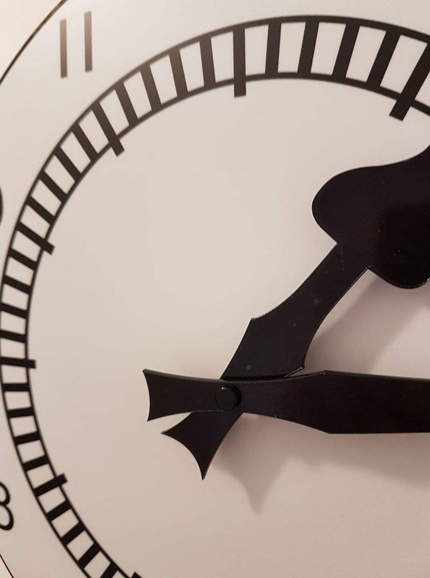 The Clock Wallclock (Acrylic) - product images  of