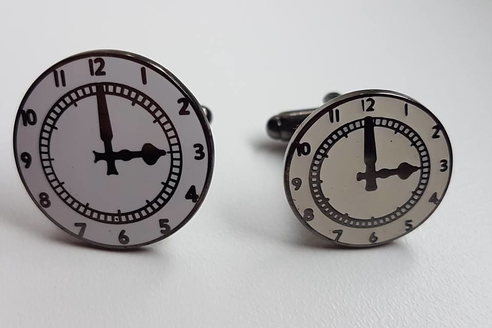 Clock Cufflinks (big ones) - product images  of