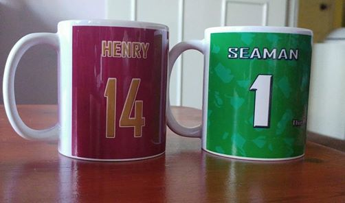 Legends mugs Seaman Henry Bergkamp Pires - product images  of