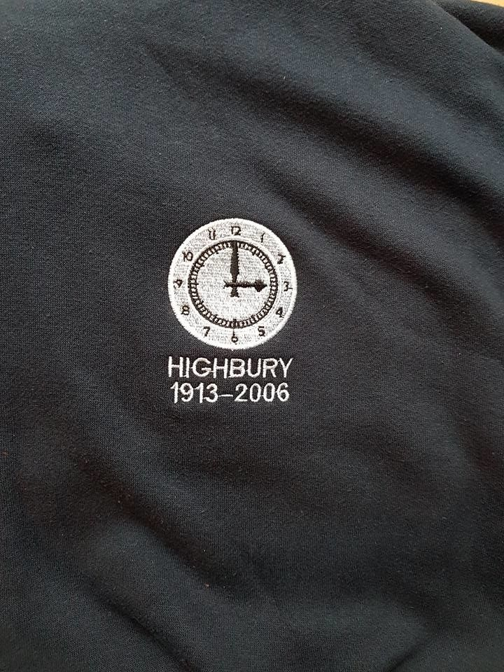 Highbury zip up hoodie (Navy) - product images  of