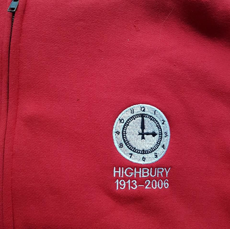 Highbury zip up hoodie (Red) - product images  of