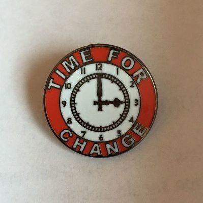 TimeFor Change - Badge pin - product image
