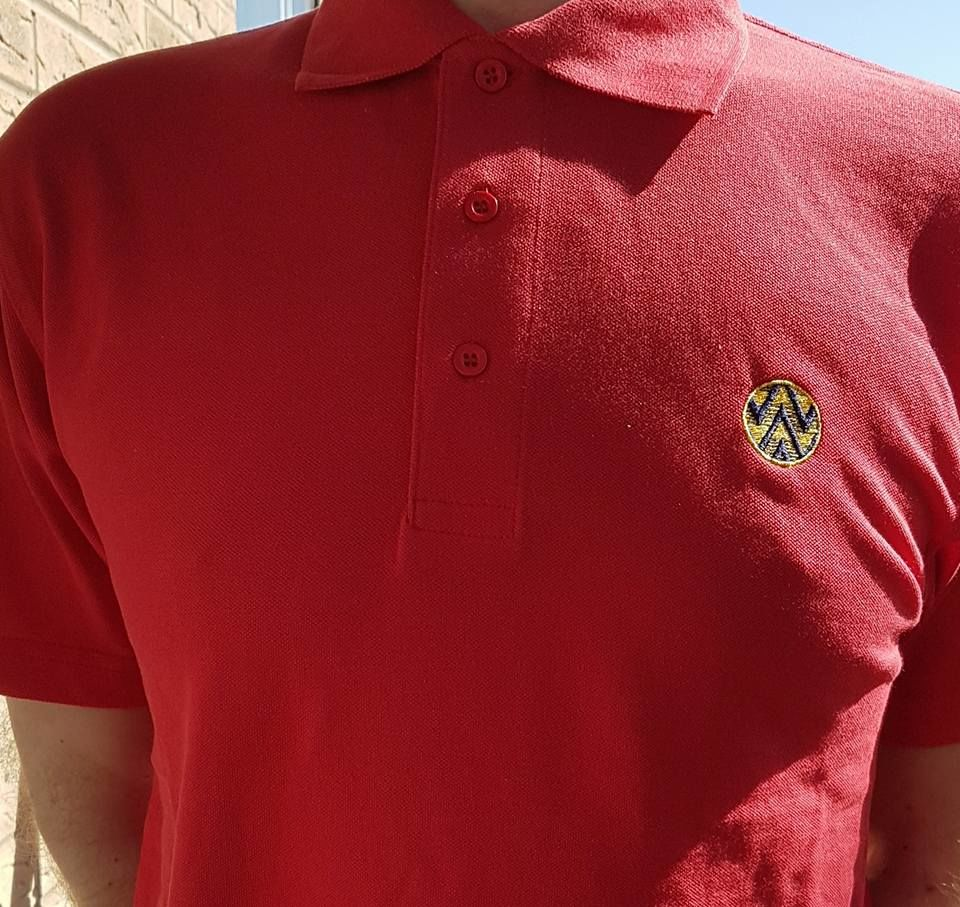 Bruised banana Polo shirts (Red) - product image
