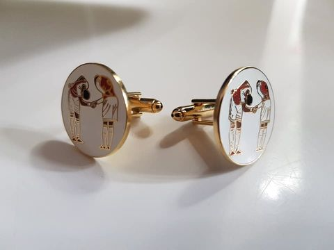 F.T.C,Badgepin,+,cufflinks
